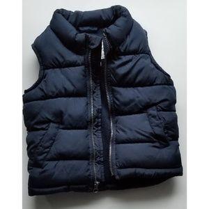 Old navy ski vest blue 2T